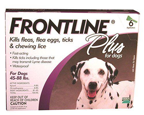 Merial Frontline Plus control de pulgas y garrapatas