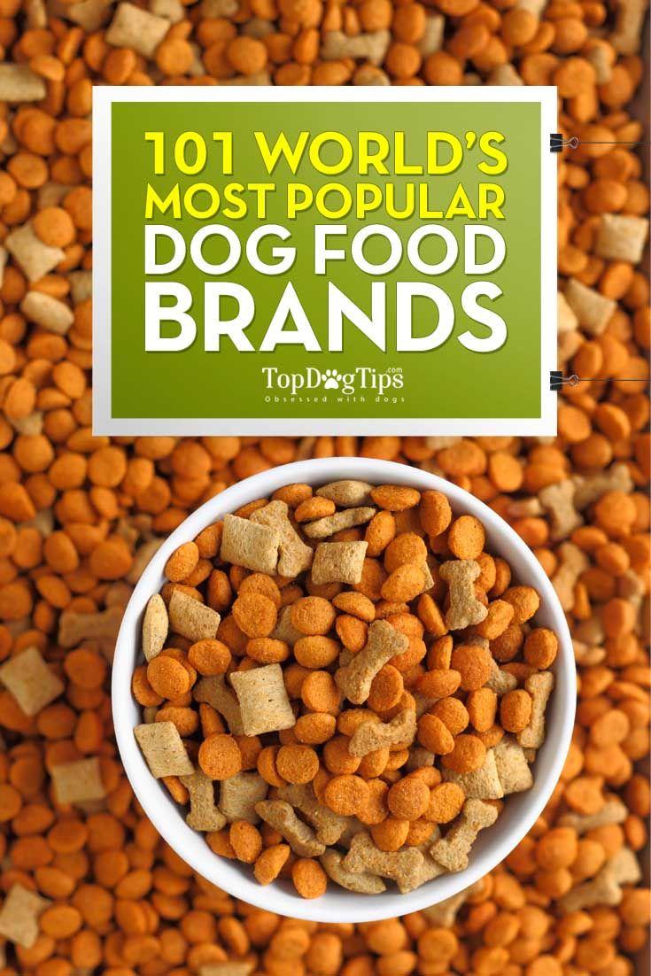 La mayorГa de las marcas populares de comida de perro