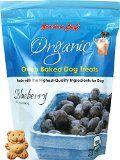 Hechos al horno trata de perro - Blueberry