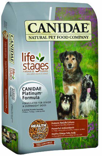 CANIDAE etapas de la vida Pienso para perros para perros mayores