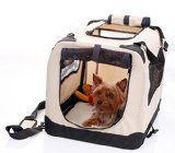 Cajón 2PED plegable perro suave para la cubierta, viajes, capacitación