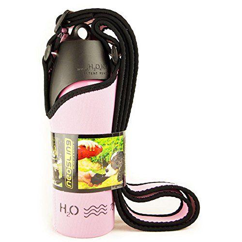 H2O4K9 Combo Pack Neosling y 25 onzas botella de agua y viajes Cuenco