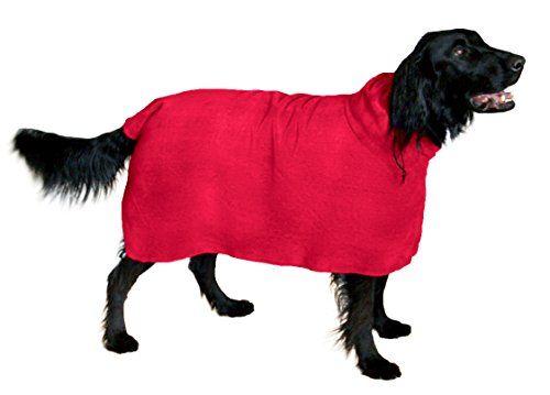 El perro Snuggly Easy Wear Toalla de microfibra perro