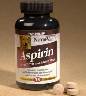 La aspirina para perros: puede darle a mi perro aspirina? ¿Es seguro?