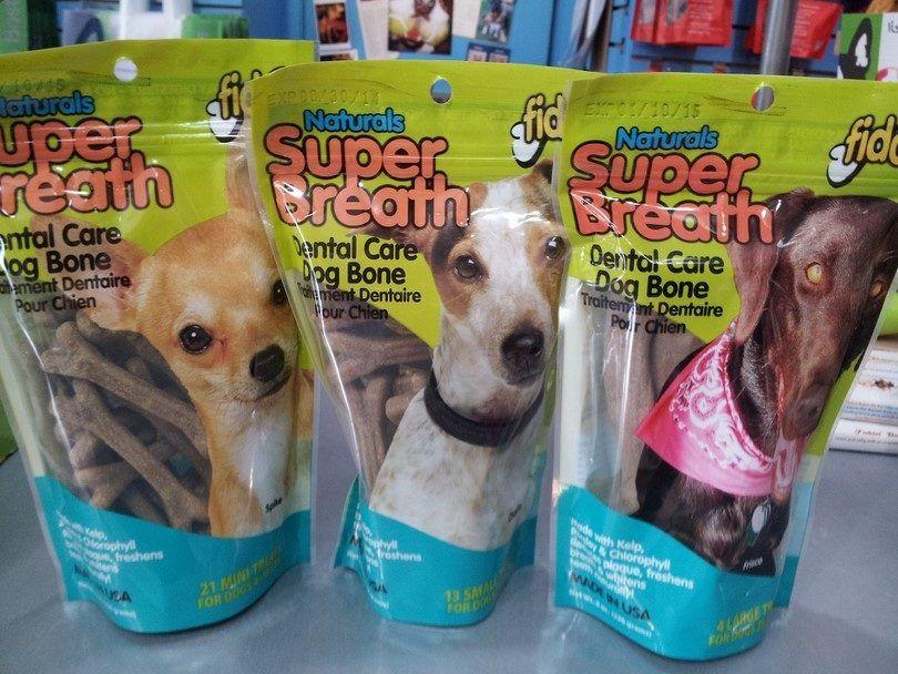 golosinas aliento de perro