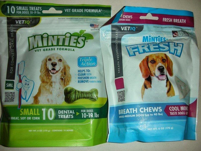pastillas de menta para perros