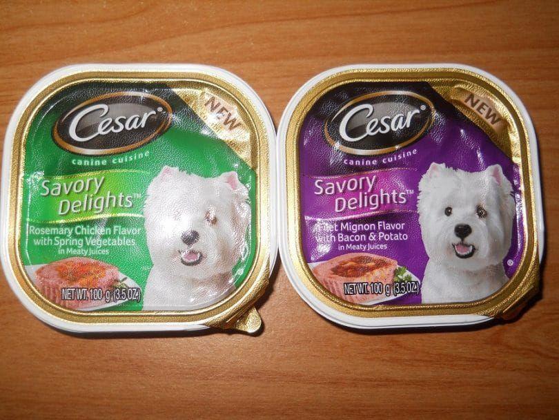 CESAR Canina de cocina Variety Pack filete Mignon