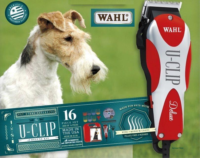 Wahl T-Clip Deluxe Inicio mascota kit de aseo
