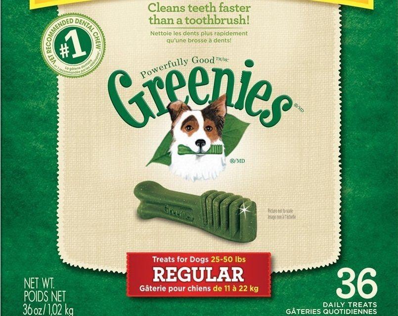 Se usa para tratar greenies huesos dentales regulares para perros