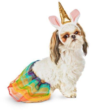 disfraz de Halloween perro unicornio