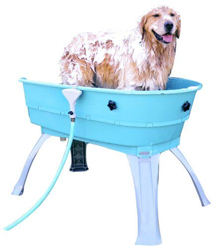 Booster Bath 3040 azul grande de lavado de perro