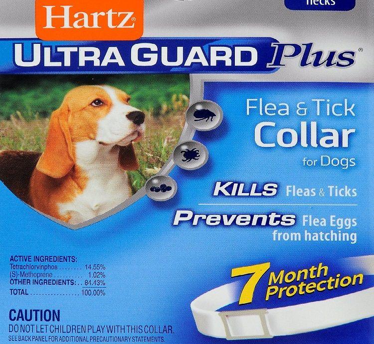 Ultraguard pulgas y garrapatas collar de perro grande