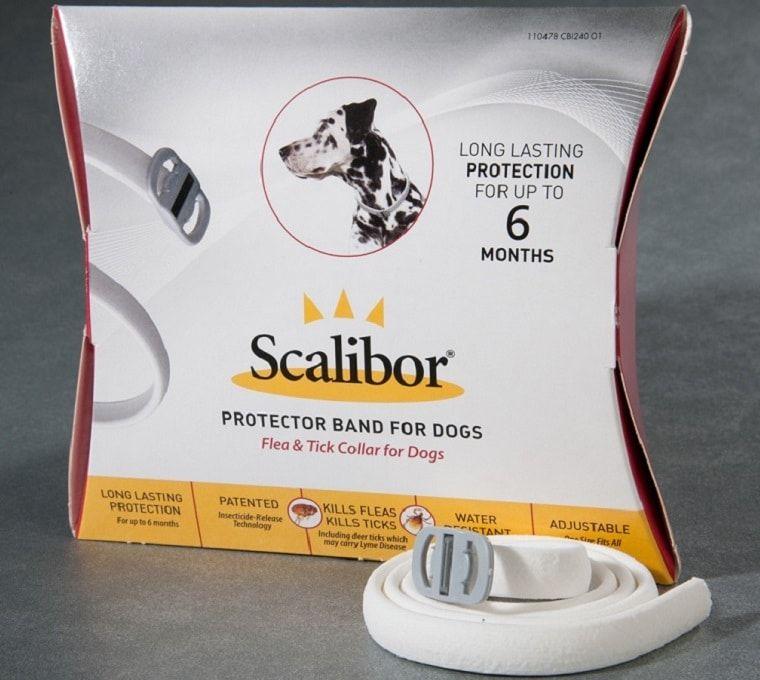 Scalibor protector de la banda para perros