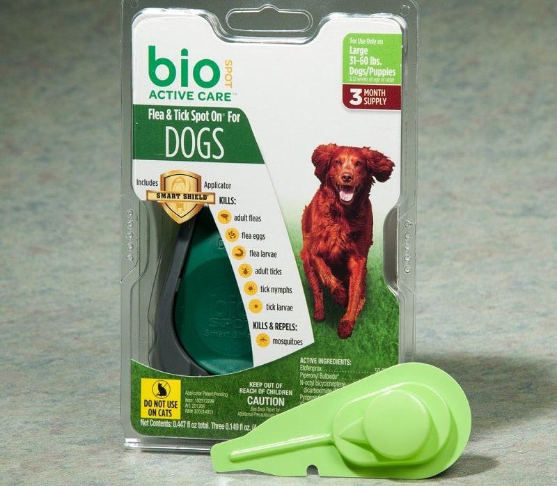 Garrapatas y pulgas Atención activa collar por BioSpot