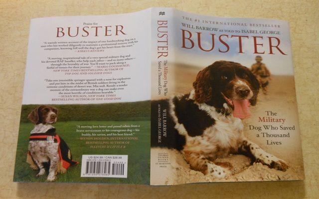 Buster: El perro que salvó militar Mil Vidas