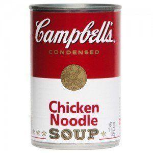 ¿Puedo darle a mi perro sopa de fideos con pollo?