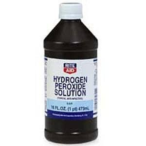 ¿Puedo dar mi peróxido de hidrógeno al perro?