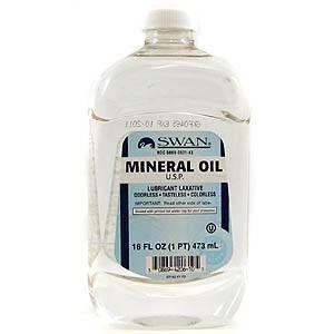 ¿Puedo dar mi aceite mineral perro?