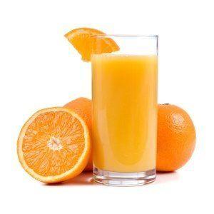 ¿Puedo dar mi jugo de naranja perro?