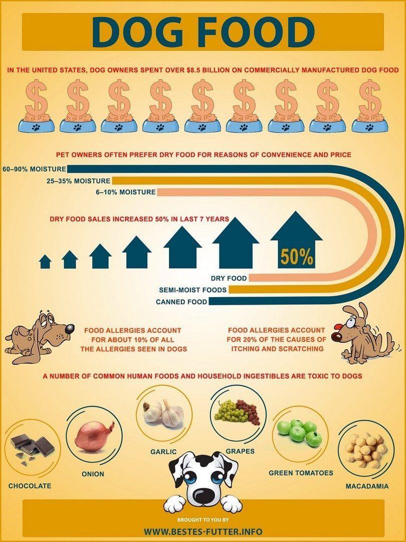 Informaciones sobre comida para perros