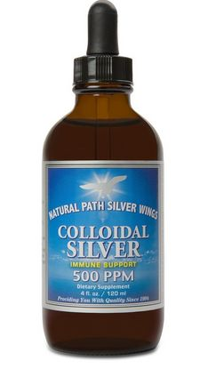 La plata coloidal para la conjuntivitis canina
