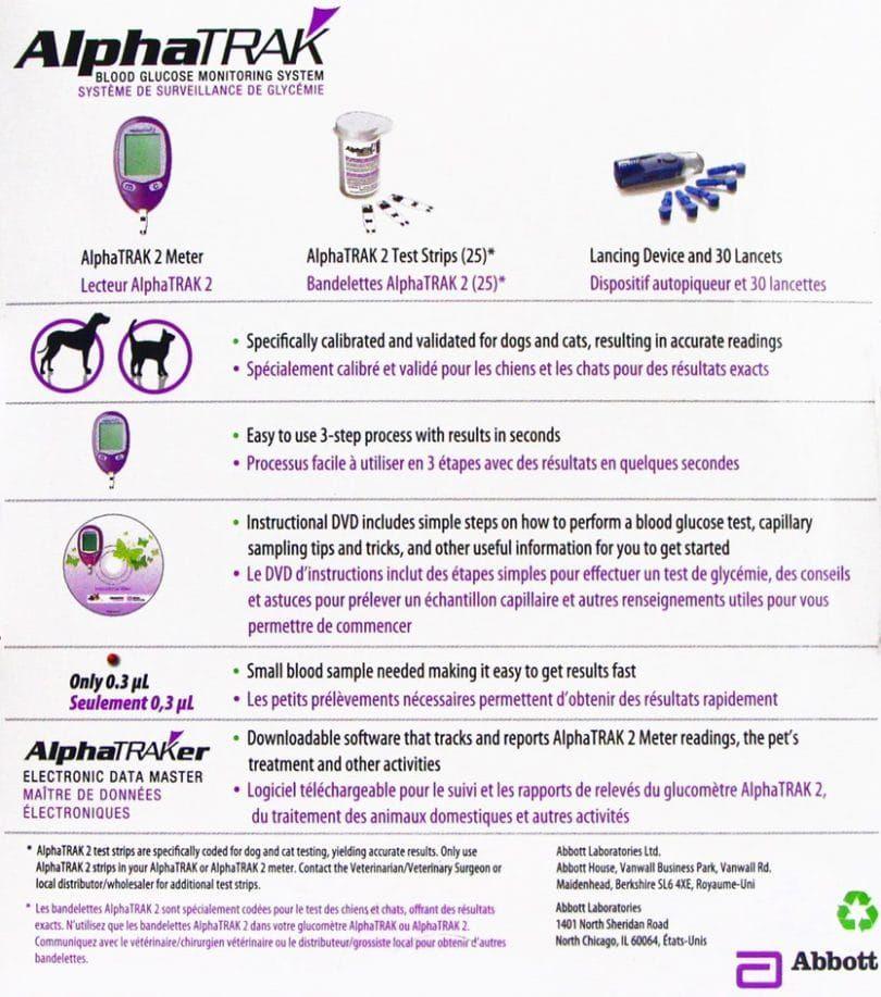 AlphaTRAK kit de sistema de monitoreo de glucosa en la sangre 2