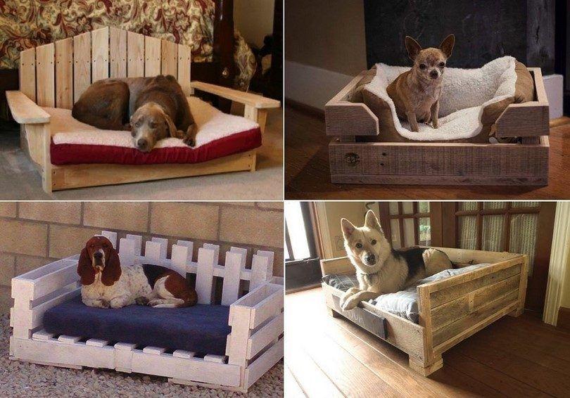 camas para perros caseros