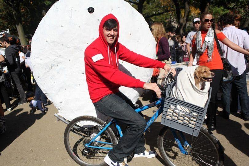 E.T. traje del perro