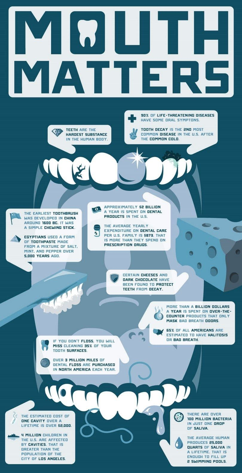 infografía dental