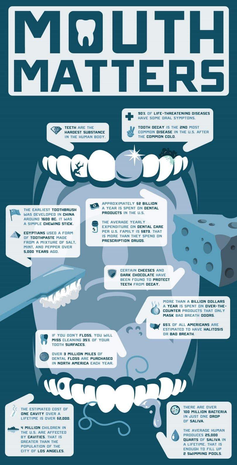 infografГa dental