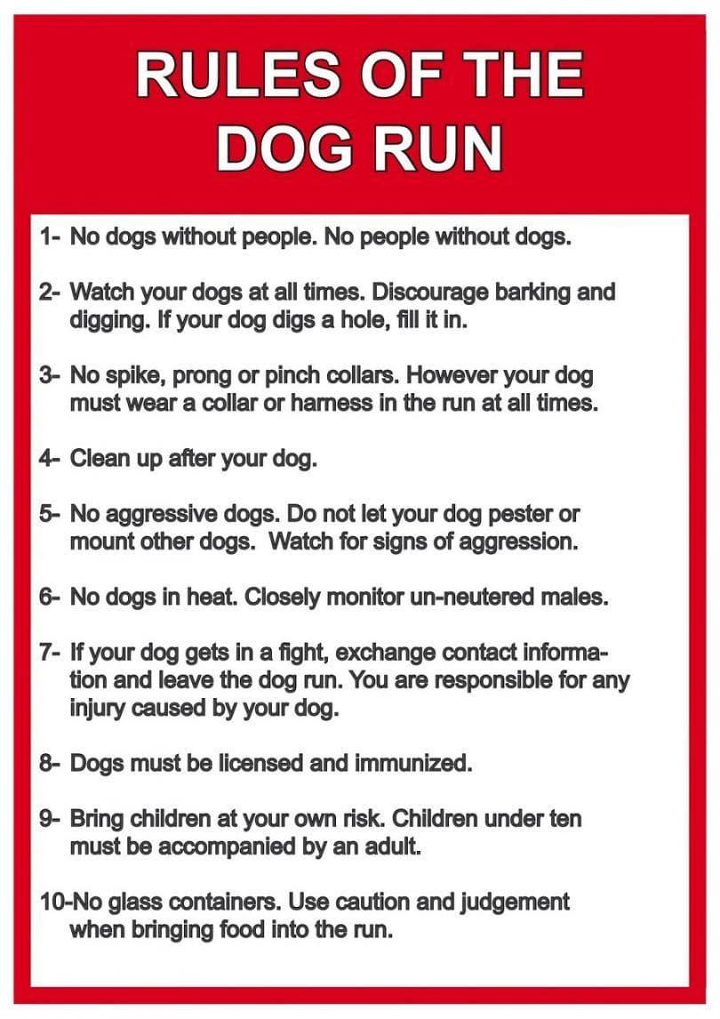 Reglas para perros