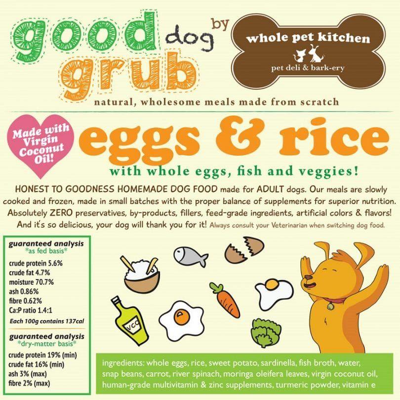 Alimento de perro por perro sano