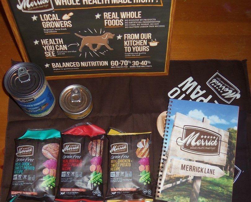 Merrick alimentos de grano libre seca para perros