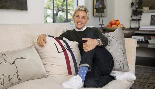 Ellen DeGeneres es el diseГ±o de su camino en el Mundial de mascotas