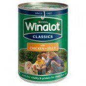 Una lata de comida para perros Winalot