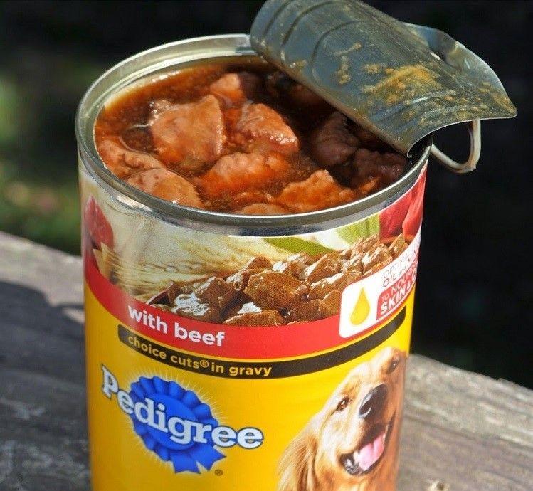 alimento enlatado para perros