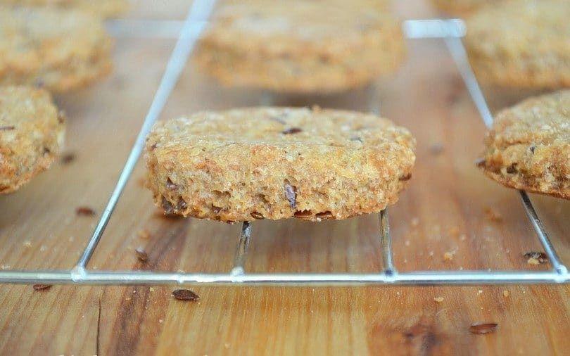 Caseras galletas para perros semillas de lino
