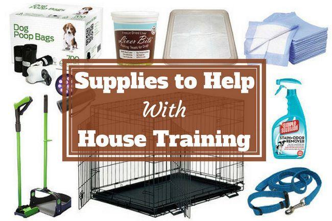 Una colección de productos y materiales de formación casa