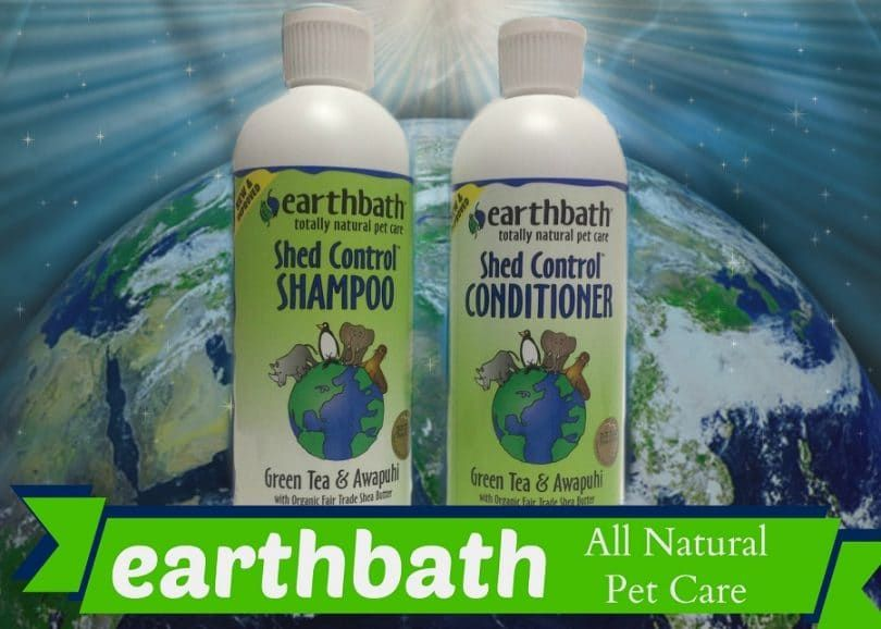 Todo Earthbath champú para perros Natural