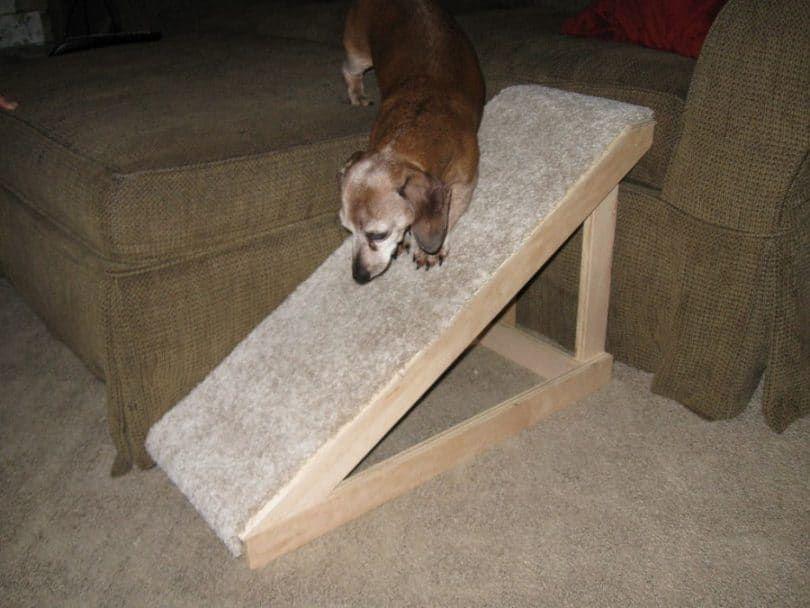Una rampa para un sofá