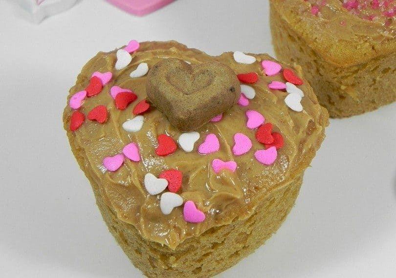 tortas de cachorros Valentine
