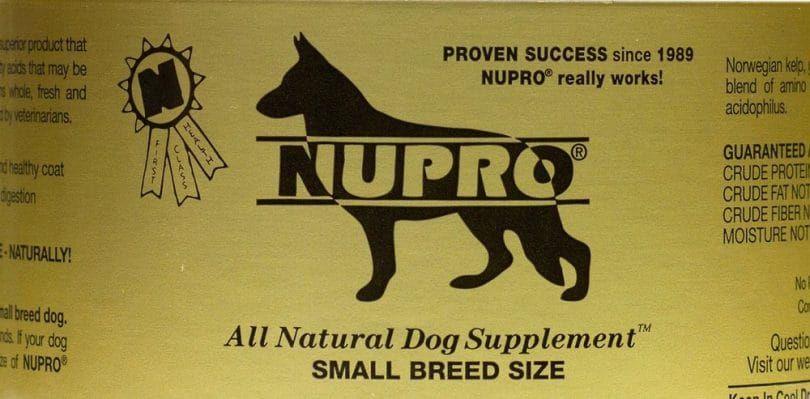 Nutri-Pet Nupro conjunta y el apoyo de inmunidad para perros