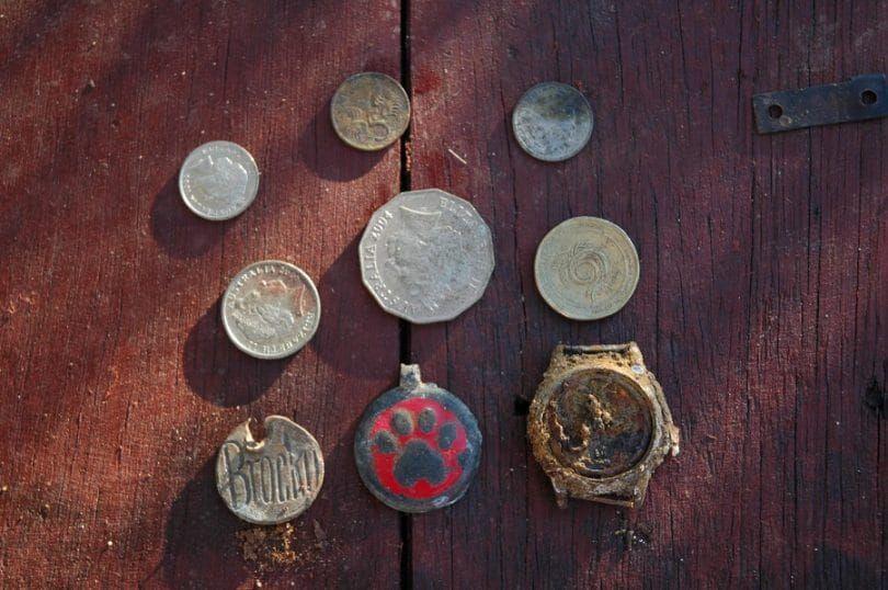 Centavos para placas de identificación