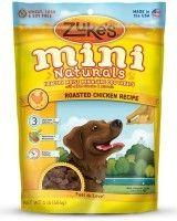 zuke`s Mini Naturals dog treat pouch onwhite background