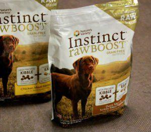 Boost Variedad crudo instinto Raw Dog Food RevisiГіn de la Naturaleza
