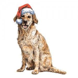Arte del perro de DIY Navidad para los amantes del perro