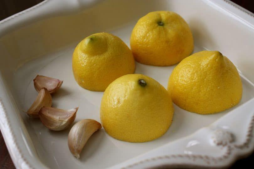 Limón y ajo