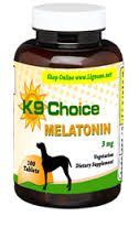 La melatonina para perros K9