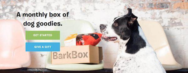 caja de la suscripciГіn del perro