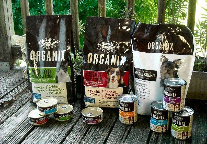 La comida orgánica para perros